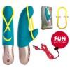 amorina Fun Factory -vibrador con banda estimuladora - Tu Mundo Fantástico