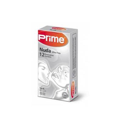Preservativos Prime Nuda Ultra fino 12 unidades
