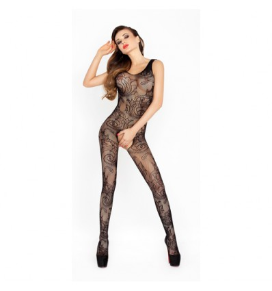 Bodystocking BS020 Negro Talla única Passion