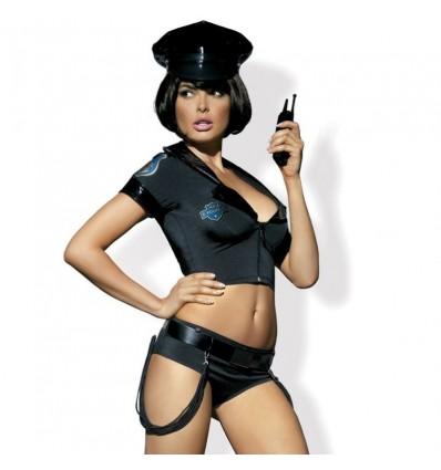 Disfraz Policía Talla S/M Obsessive