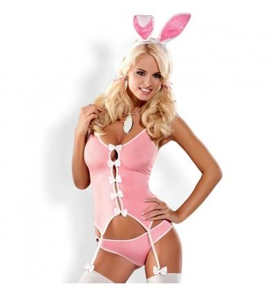 Disfraz Conejita Bunny Suit Talla S/M Obsessive