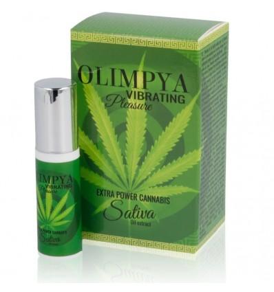 Olimpya Vibrating Pleasure Potente Intensificador Sativa