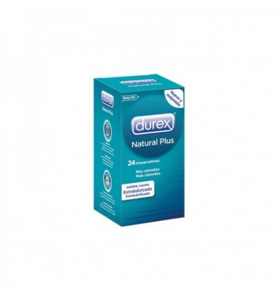 Preservativos Durex Natural Plus 24uds